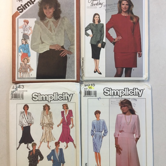 80/'s Vintage Uncut McCalls Pattern #9411